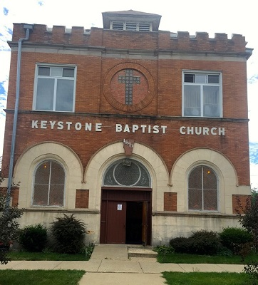 KeyStone Baptist Church Exterior